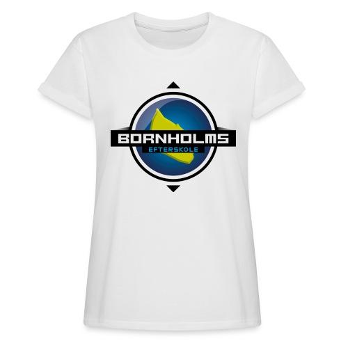 BORNHOLMS_EFTERSKOLE - Dame oversize T-shirt
