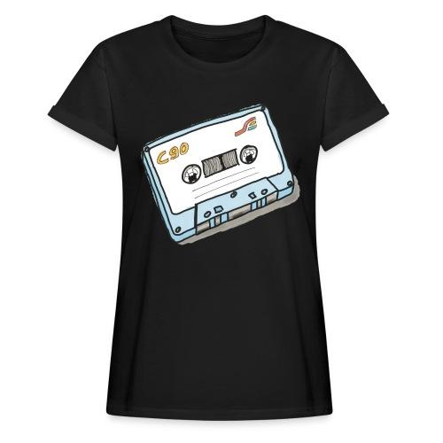 Cassette - Frauen Oversize T-Shirt