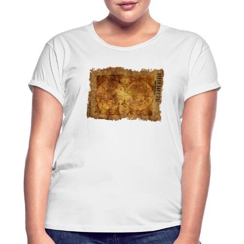map of the world 2241469 1920 - Frauen Oversize T-Shirt