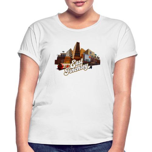 Arjun & East Finchley - Women's Oversize T-Shirt
