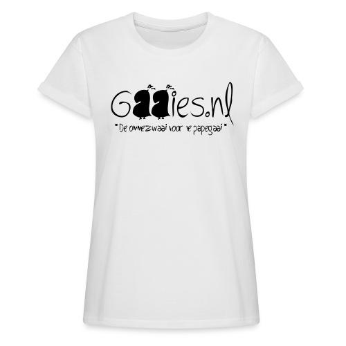gaaies - Vrouwen oversize T-shirt