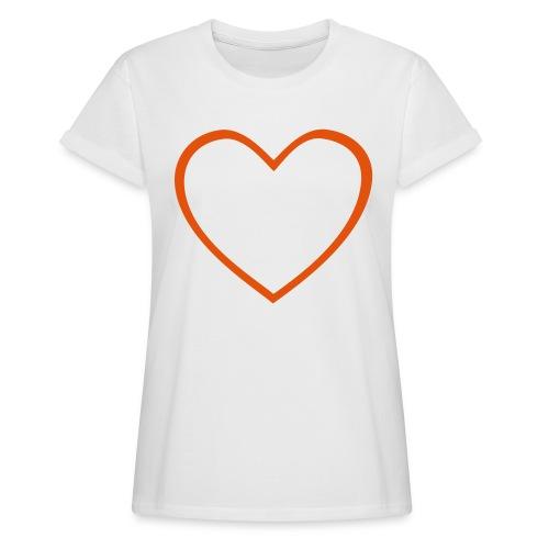 Hjärta 4 - Oversize-T-shirt dam