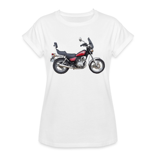 snm daelim vc 125 f advace seite rechts ohne - Frauen Oversize T-Shirt