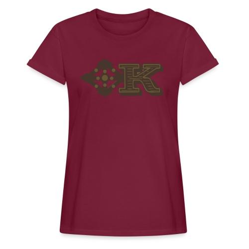 Kenya Airways Logo - Women's Oversize T-Shirt