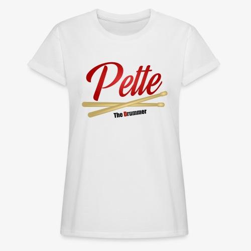 Pette the Drummer - Women's Oversize T-Shirt