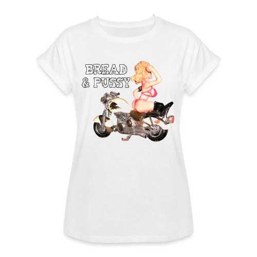 LOGO BREAD AND PUSSY - Maglietta ampia da donna
