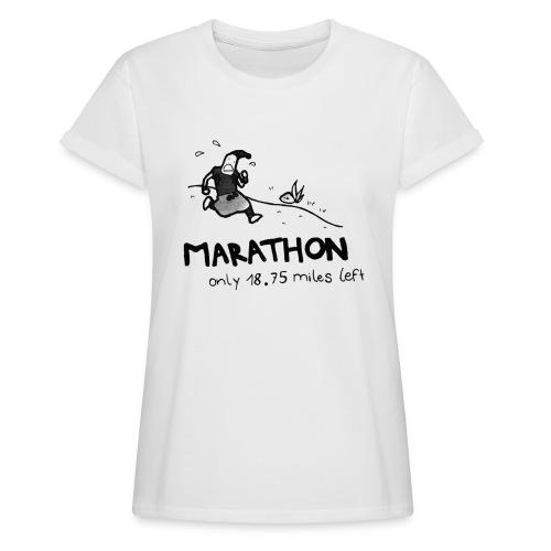 marathon-png - Koszulka damska oversize