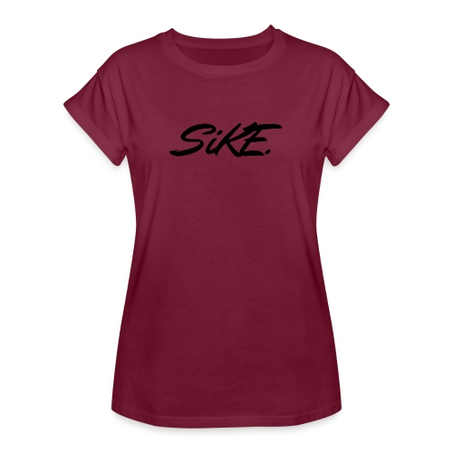SIKE - T-shirt oversize Femme