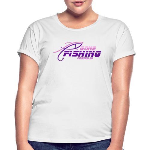 GONE-FISHING (2022) DEEPSEA/LAKE BOAT P-COLLECTION - Women's Oversize T-Shirt