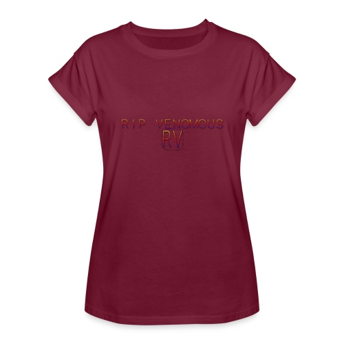 Rip Venomous White T-Shirt woman - Vrouwen oversize T-shirt
