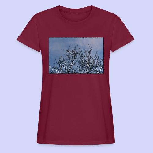 Summer times - Male shirt - Dame oversize T-shirt