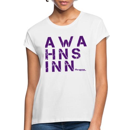 HazyShirt05awahnsinn - Frauen Oversize T-Shirt