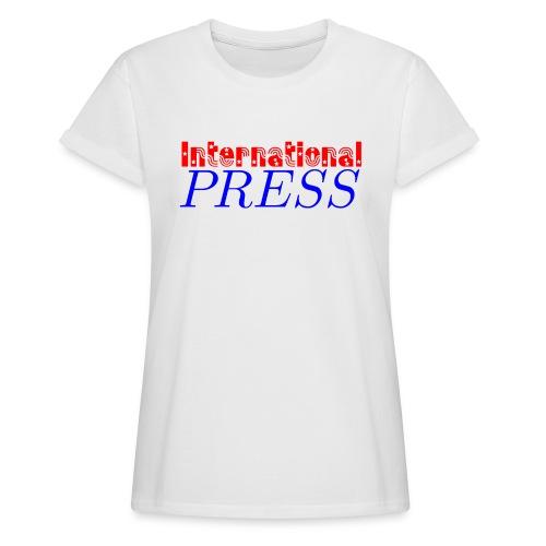 int_press-png - Maglietta ampia da donna