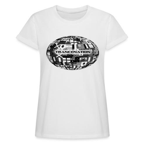 trancenation - Oversize-T-shirt dam