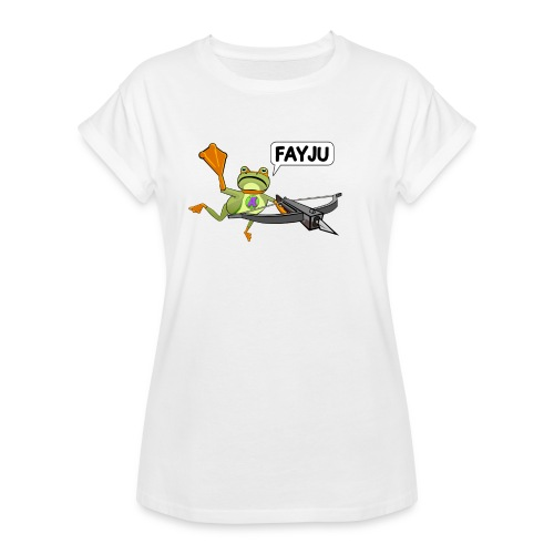 Amazing Frog Crossbow - Women's Oversize T-Shirt