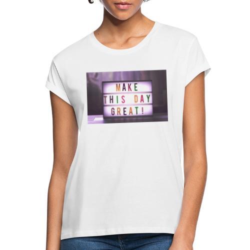 motivation citater bizzup - Dame oversize T-shirt