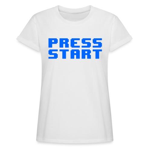 Press Start - Maglietta ampia da donna