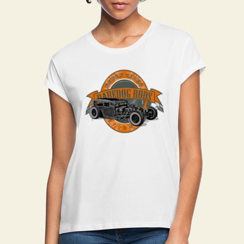 Raredog Rods Logo - Dame oversize T-shirt