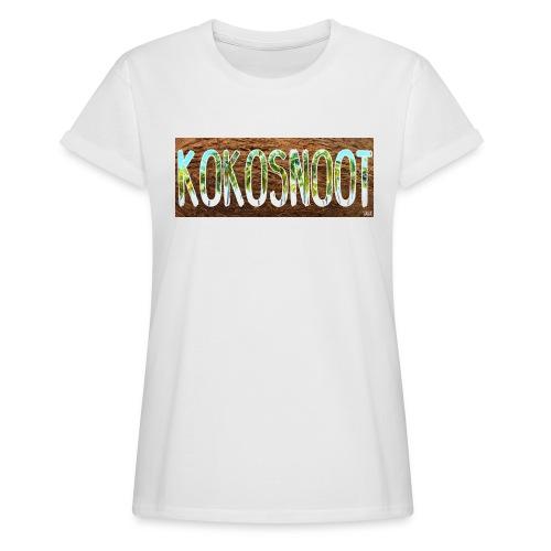 Kokosnoot - Vrouwen oversize T-shirt