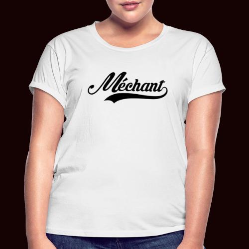 mechant_logo - T-shirt oversize Femme