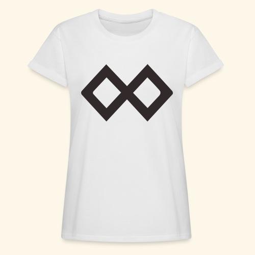 TenX Logo - Frauen Oversize T-Shirt