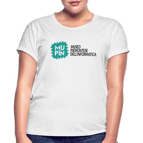 Logo Mupin con scritta - Maglietta ampia da donna