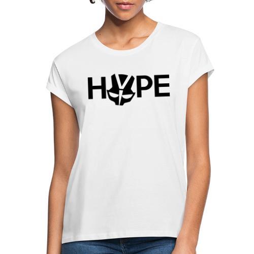 H3PE Danmark hyldest - Dame oversize T-shirt