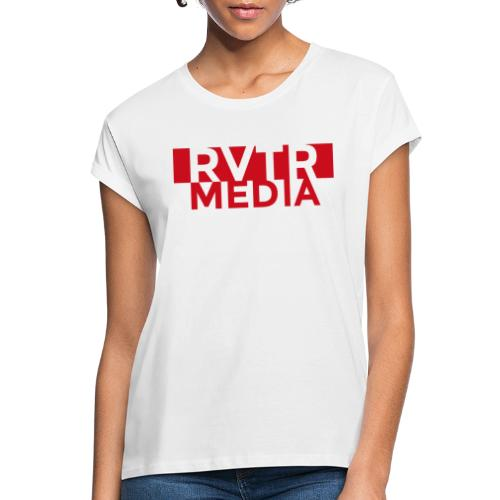 RVTR media red - Frauen Oversize T-Shirt