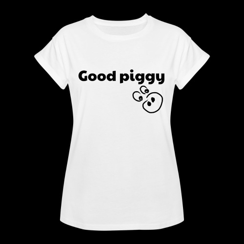 Good Pig - Women's Oversize T-Shirt