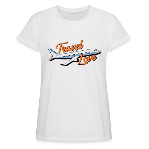 Travel love Air - Camiseta holgada de mujer