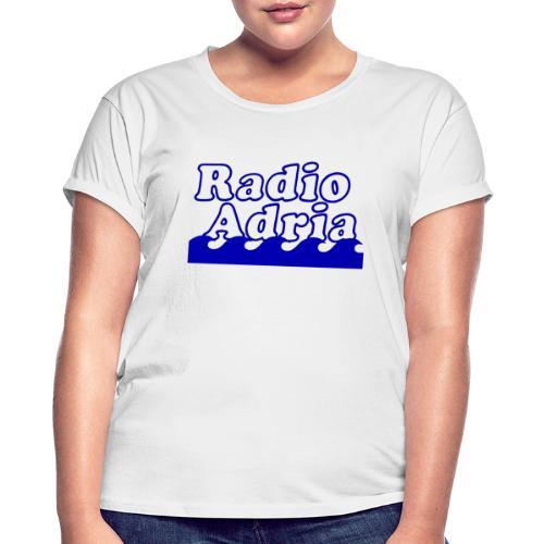 RadioAdria Logo - Frauen Oversize T-Shirt
