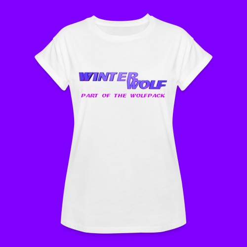 WINTERWOLF LOGO Part of The Wolfpack T-shirt - Vrouwen oversize T-shirt