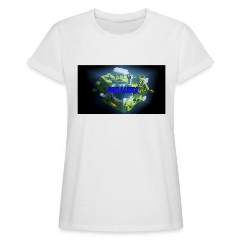 T-shirt SBM games - Vrouwen oversize T-shirt