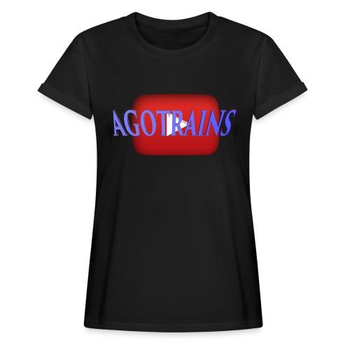 AGOTRAINS - Maglietta ampia da donna