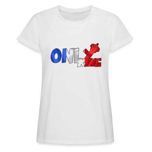 Logo ONLY KING edition francaise - T-shirt oversize Femme