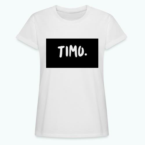 Ontwerp - Vrouwen oversize T-shirt