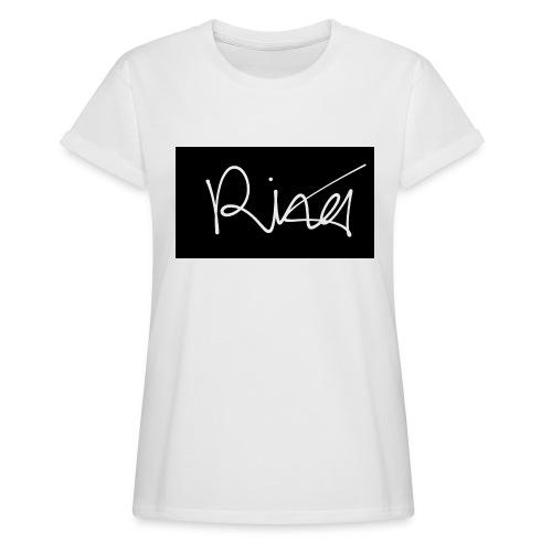 Autogramm - Frauen Oversize T-Shirt