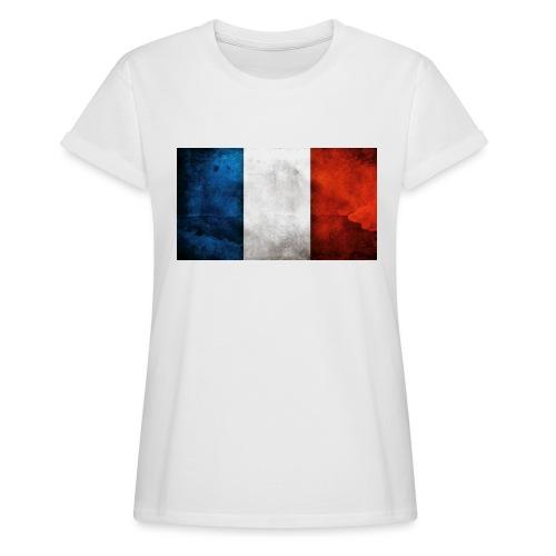 France Flag - Women's Oversize T-Shirt