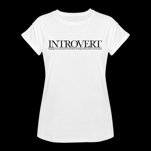INTROVED WB - Women's Oversize T-Shirt