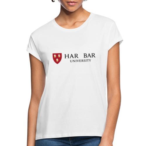 Har Bar - Camiseta holgada de mujer