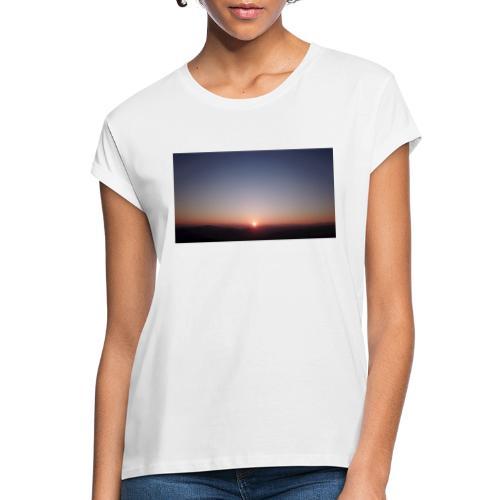SONNENAUFGANG - Frauen Oversize T-Shirt