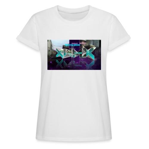XZWhModzZX - Dame oversize T-shirt