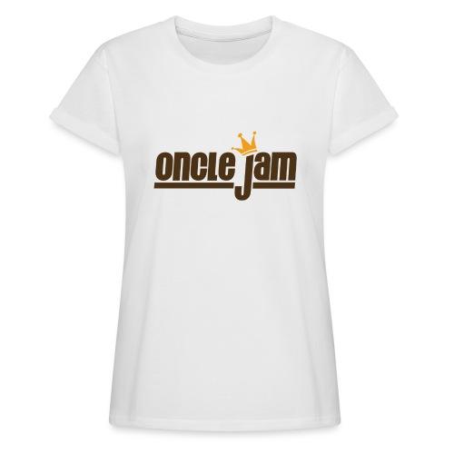 Oncle Jam horizontal brun - T-shirt oversize Femme