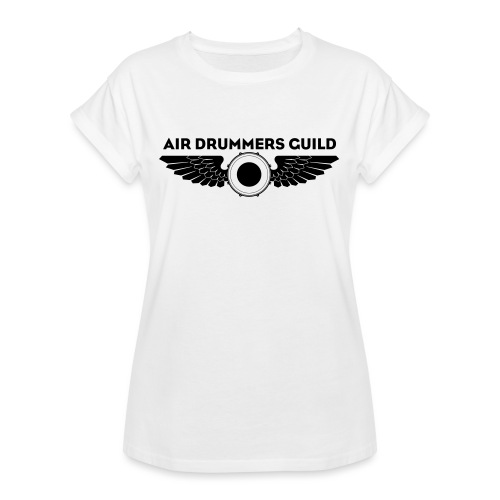 ADG Drum'n'Wings Emblem - Women's Oversize T-Shirt