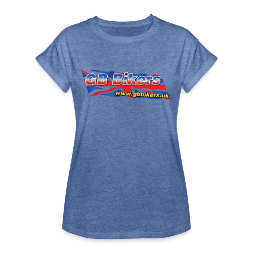GB Bikers - Women's Oversize T-Shirt