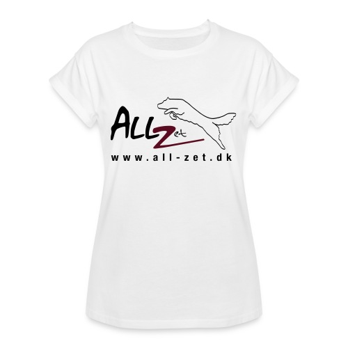 All Zet Logo - Dame oversize T-shirt