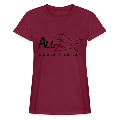All Zet Logo - Dame oversize T-shirt