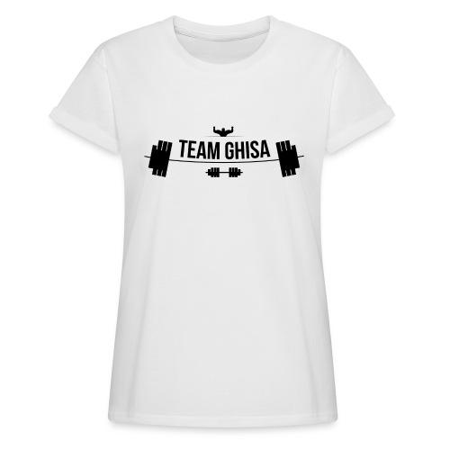 TEAMGHISALOGO - Maglietta ampia da donna