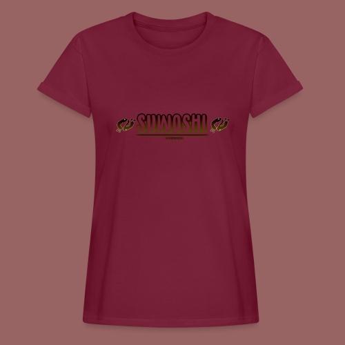 Suwoshi Streetwear - Vrouwen oversize T-shirt
