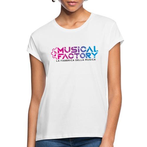 Musical Factory Sign - Maglietta ampia da donna
